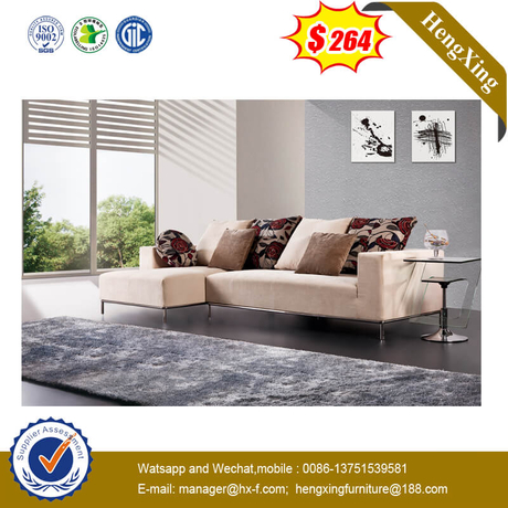 Hot Sales Metal Steel Leg Home Furniture Sofa Chair Leisure Sofa Set