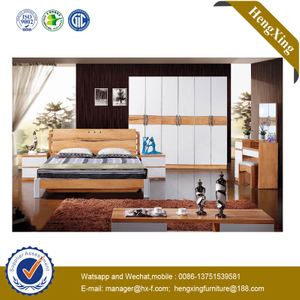 Foshan Factory Wooden Bedroom Bed Home Hotel Livingroom Furniture