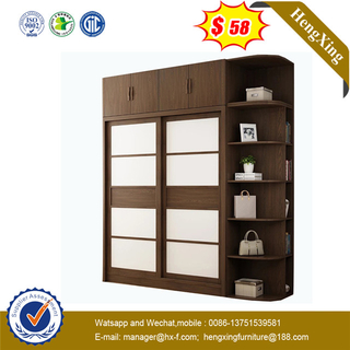 Wooden High quality Modern Flush Sliding Door MDF closet