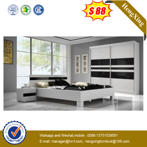wholesale design hotel beds modern with headboard Bedroom Set King Size bedroom furniture