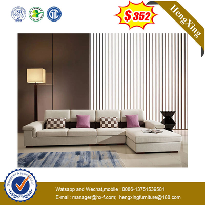 Fashion White Combination Sofa Set Living Bedroom Furniture Sectional Sofa