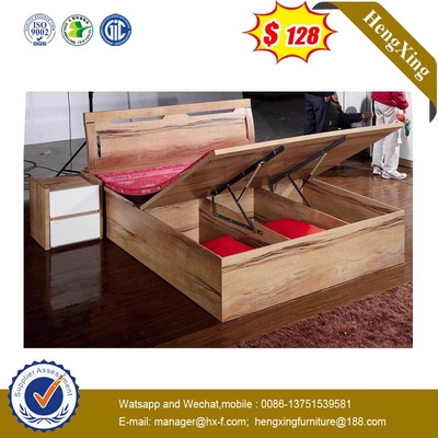 Cheap Price Wooden Furniture Bed Living Bedroom Set With Storage