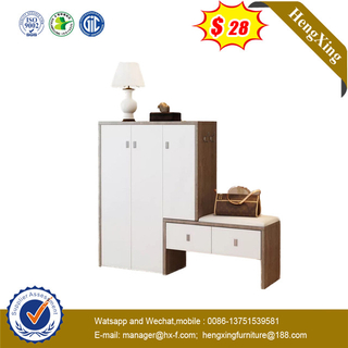 Modern Mdf Melamine Shoe Cabinet Drawer Shoe Rack Storage Stand