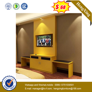 New Modern Customized Wooden Hotel Dresser Dressing Table