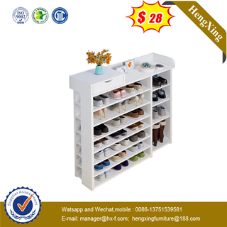 Modern Mdf Melamine Shoe Cabinet Shoe Rack Storage Shelf