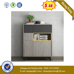 New Design Multi-function Wood Custom Cabinet Drawer With Bookshelf Furniture