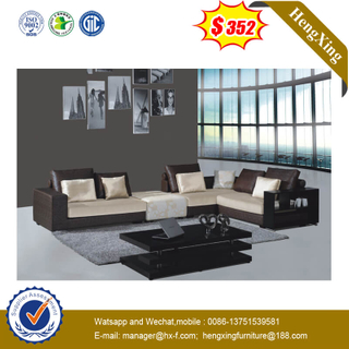 Modern Design Hotel Lobby Relaxing Office Furniture Fabric Leather Sofa