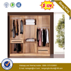 Modern White Combined Closet Cabinet Home Furniture 6-door Wooden Wardrobe