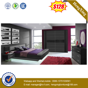 Fashion Design Wooden MDF Home Living Room Bedroom Bed