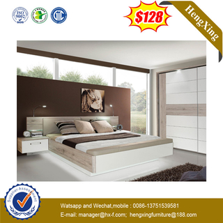 Modern Simple Home Hotel Bedroom Furniture Set Bed With Storage And Backrest