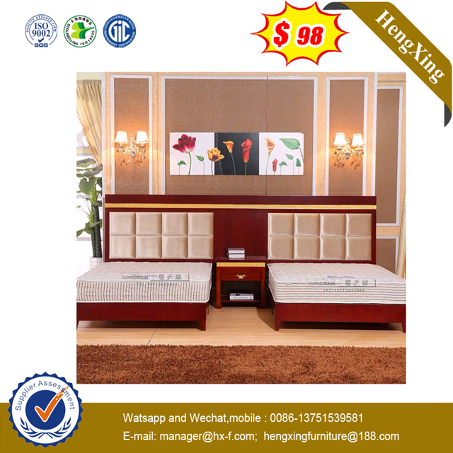 Modern MDF Living Room Bed with Bed Couch Wooden Legs