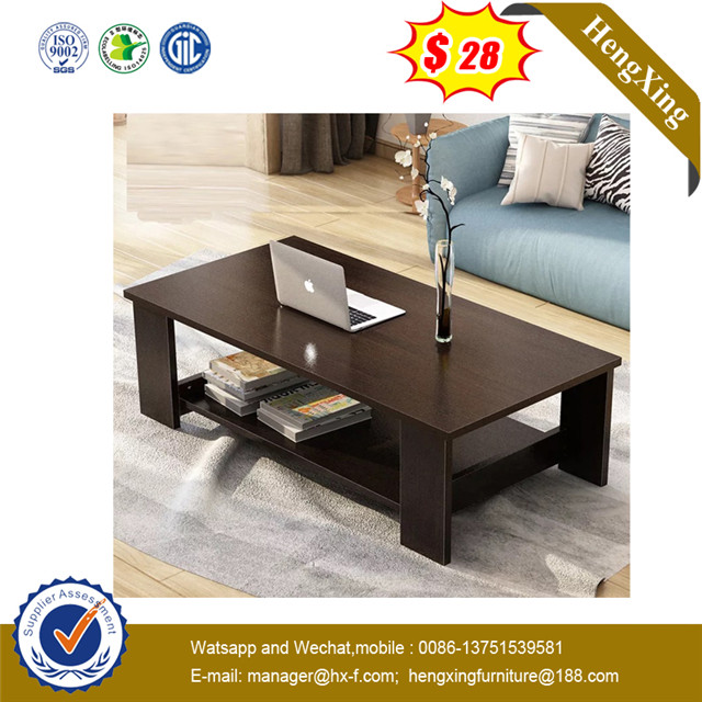 Dark Color Wooden Office Home Hotel Living Room Coffee Table
