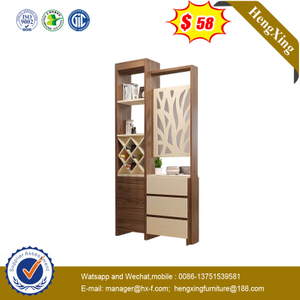Minimalist Living Room Divider Shoe Wood Furniture Sideboard Display Cabinet