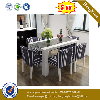 Hot Sale Hotel restaurant Simple Dining Table Solid Wood Customized