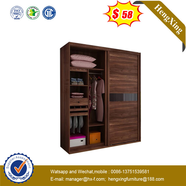 Classic Big size Wooden 25mm thickness two doors closet