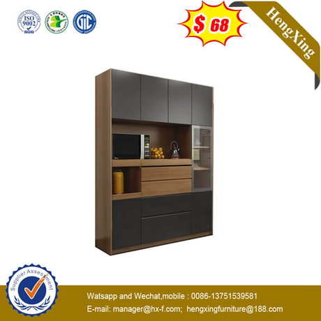 Dining Side Wine Cabinet Tea Cabinet Kitchen Large Capacity High Cabinet