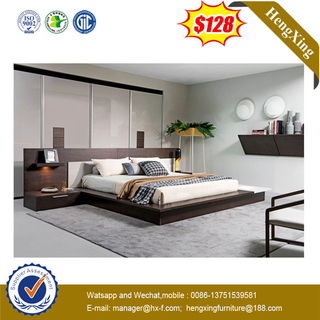 Luxury King Size Modern Wooedn Bedroom Hotel Bed