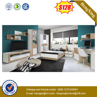 Fabric Leisure Home Hotel Office Furniture Bedroom Living Room Sofa Bed with Wood Frame