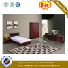 President Fabric Bed Bedroom Furniture Double Hotel Beds Set