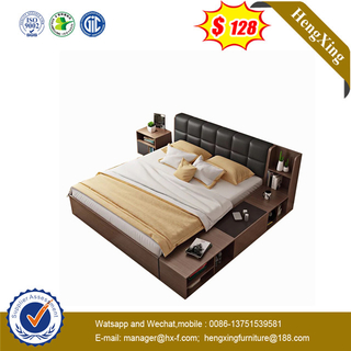 economic price Good Carton Box Packing New Design MDF wooden bed
