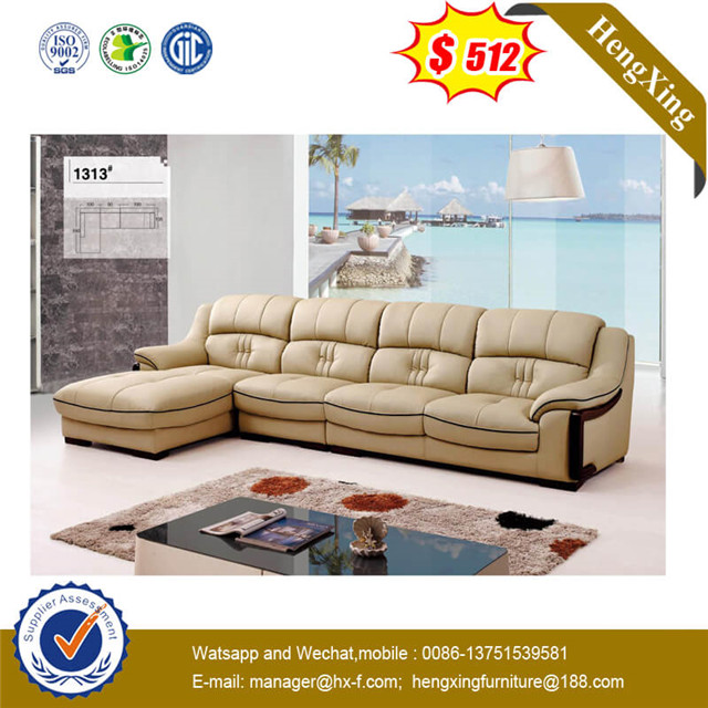 Cheap Price Simple Popular Furniture Modern Living Room Leather Couch Leather Sofa