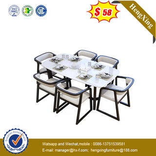 Small Size MDF Veneer Apartment Furniture Dining Table