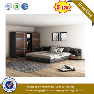 Shunde Best Price Water Proof Classic Design Wooden Twin Bed
