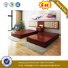 Chinese Factory Modern Lift up Hotel Furniture Bed with Storage
