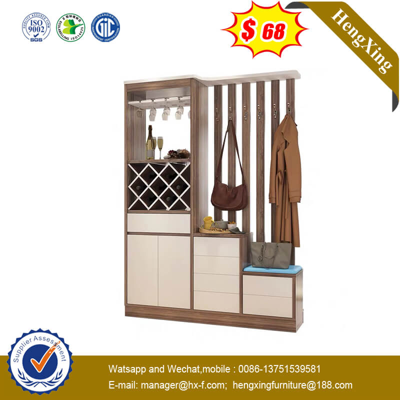 New Model Hallway Partition Cabinet Multifunctional Clothes Hanger Shoe Cabinet