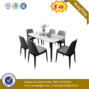 Chinese Outdoor Hotel Furniture Modern Style Restaurant Dining Table Set