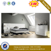New style Modern bedroom furniture hotel set home wooden bed