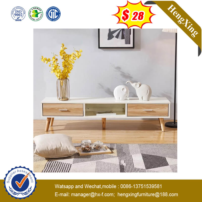 Latest Eurpean Design Modern Wooden TV Stand with Coffee Table