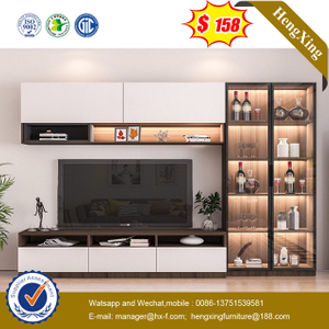 2021 New Modern Design Living Room Furniture Hall Wooden glass door TV Cabinet TV Stand