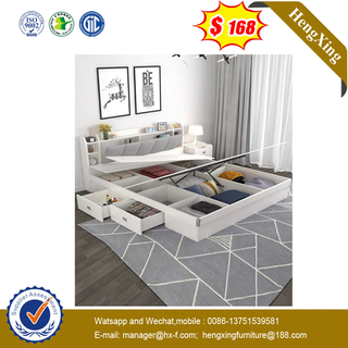 Modern Wooden Bedroom Furniture livingroom Mattress Wardrobe King Queen Wall single double Beds