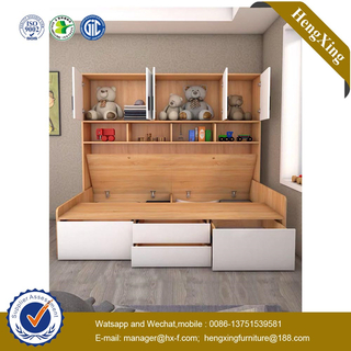 Modern Simple Design Bedroom baby furniture nightstand wardrobe cabinets study table kids bunk Beds