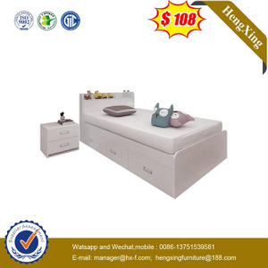 Chinese Factory Furniture Bedroom Set Children Wood Frame baby children Single Bed