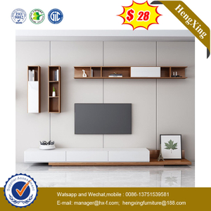 Modern Hotel Wooden TV Unit Living Room Cabinet Dining Furniture TV Stand