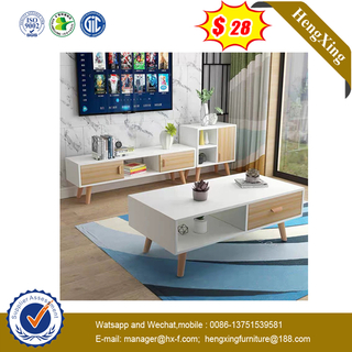 Modern MDF dining room home furniture round tea table sofa side simple coffee table