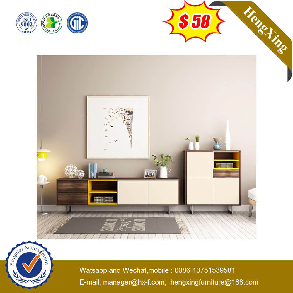 Hot Sale New Model Melamine Chipboard Home Furniture TV Stand