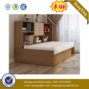 Chinese Factory Modern Bedroom Furniture Wooden Sofa Double Single King Wall Bed
