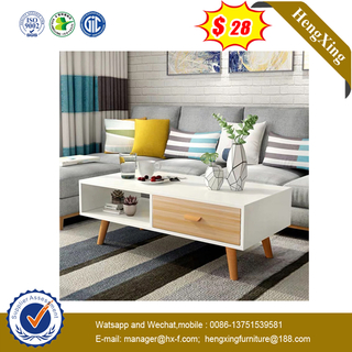 Home Furniture Living Room wood MDF Top Table Sets Modern Coffee Table Set for dining Room