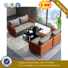 Home Design Living Room furniture 3 Seater Vintage Leather Sofa Brown Color Couch