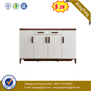 Chinese Display Melamine Wooden MFC dining table Shoe Rotation Cabinet Home Living Room Furniture