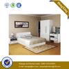 Luxury Wholesale Wood Furniture Bedroom Set Massage Side Table Single Double King Queen Size Bed