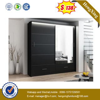 High Quality Wardrobe Closets Designs Modern Home Wide Wardrobe Closet with Doors And Mirror