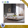 Modern Style Solid Wood Nordic Double Home Hotel Furniture King Size Bedroom Bed