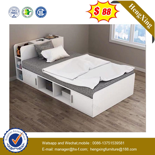 New Design Wooden Bedroom Furniture Cute Small Kid Bed for Children