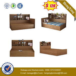 School Bedroom MFC MDF Wooden Furniture Wardrobe Cabinet Children Single Kids Bed for Child