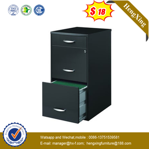 High Quality Office Storage Use 3 Drawer Mobile Pedestal Fixed Storage Cabinet