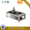 Cheap price Chinese living room Furniture Wooden desk tv stand coffee table